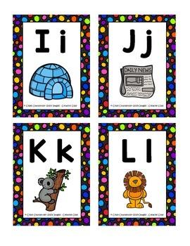 Mini cartes de l'alphabet