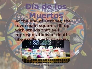 Cultural activities: Dia de los muertos/ Halloween in Mexico