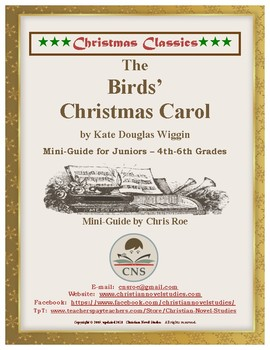 Mini-guide for Juniors: The Birds' Christmas Carol Interactive