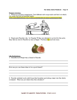 Mini-guide for Middlers: The Golden Goblet Workbook