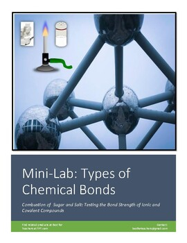 Mini lab: Introduction to Chemical Bonding: Comparing Bond Strength of Compounds