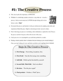 Mini-lesson #1: The Creative Process