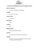 Mini-lesson: Articles of Confederation