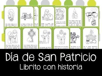 Dia de San Patricio Mini-libro en Español. Mini book: St. Patrick's Day