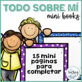 Mini libro Todo Sobre Mí / All About Me Mini Book