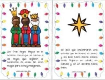 Los Tres Reyes Magos (K-2) Mini-libro