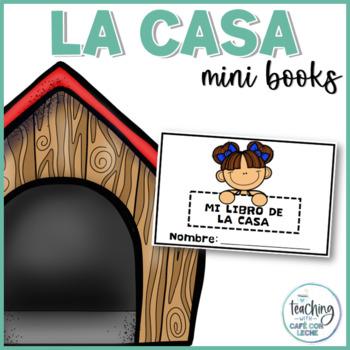 Mini libro de la casa (My House Mini Book in Spanish)