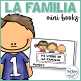 Mini libro de la familia (My Family Mini Book in Spanish)