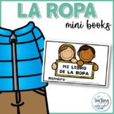 Mini libro de la ropa (My Clothing Mini Book in Spanish)