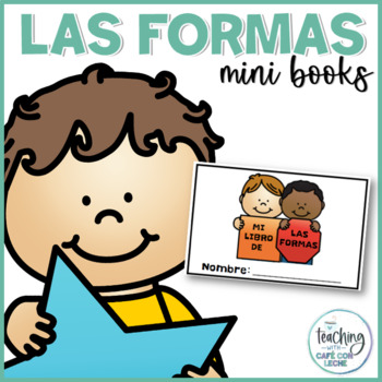 Mini libro de las formas (My Shapes Mini Book in Spanish)