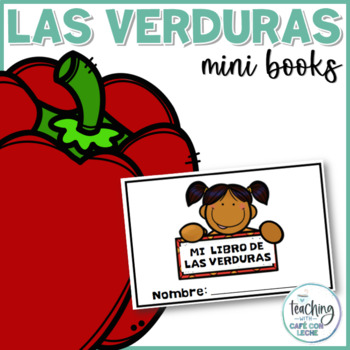 Mini libro de las verduras (My Vegetable Mini Book in Spanish)