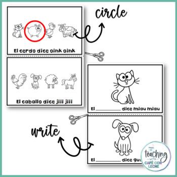 Mini libro de los animales de la granja (My Farm Animals Mini Book in Spanish)