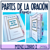 Spanish Grammar Flip Tab Book / Librito de las partes de la oración