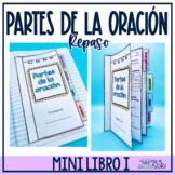 Spanish Grammar Flip Tab Book / Librito de las partes de l
