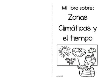 Mini libro sobre: Zonas climáticas y el tiempo