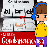 Mini libros de Sílabas trabadas y Combinaciones - Foldable