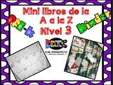 Mini libros de la A a la Z (Nivel 1)