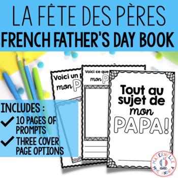 Fête des pères - Mini livre à remplir (FRENCH Father's Day Fill-in Mini Book)