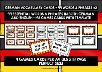 GERMAN VOCABULARY 99 WORDS & PHRASES PRACTICE & REVISION (1)