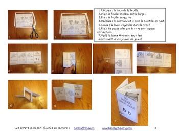 Mini-mini  livrets ABC  Immersion M-1-2  F 19