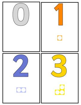 Mini numericon cards