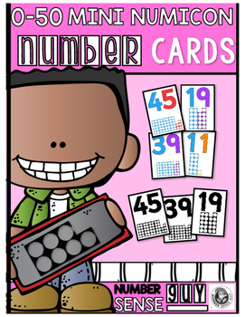 Mini numericon cards