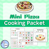 Mini pizza cooking packet