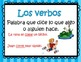 Mini posters on verbs in Spanish
