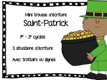 Mini trousse d'écriture pour la Saint-Patrick