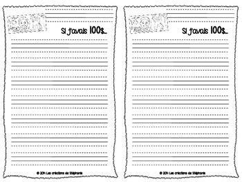 Mini trousse d'écriture pour le Jour 100