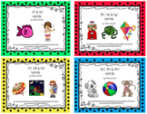MiniBook Bundle for Initial Consonant Words
