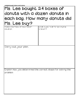 MiniLesson: Multiplication and Division Review w/ Practice Word Problems