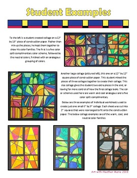 Miniature Abstract Color Theory