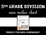 Miniature Anchor Chart - Relating Division to Multiplication