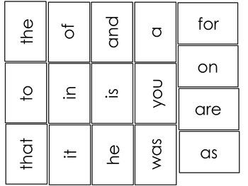Miniature Flash Card Set. Fry First Hundred, Alphabet, Primer, Pre-Primer.