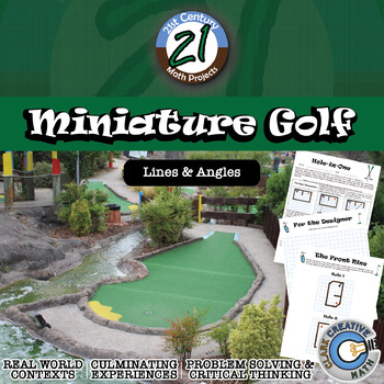 Miniature Golf -- Angle of Incidence and Reflection Geometry Project