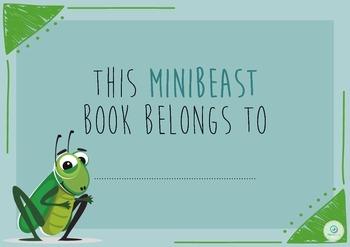 FREEBIE Minibeast Bug Book Activity Booklet