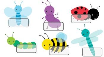 Minibeast Labels