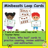 Minibeasts Insects I Have Who Has Cards Game Counting Addi