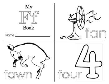 Minibook: The Letter Ff