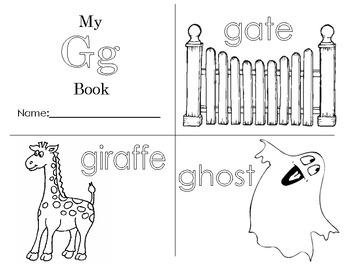 Minibook: The Letter Gg