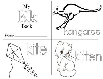 Minibook: The Letter Kk