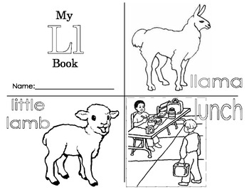 Minibook: The Letter Ll