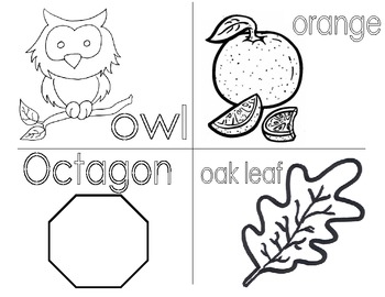 Minibook: The Letter Oo
