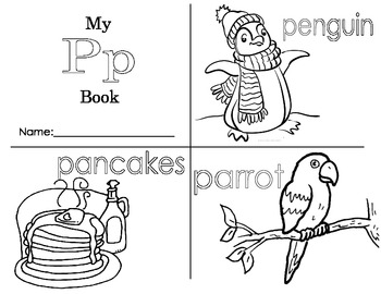 Minibook: The Letter Pp