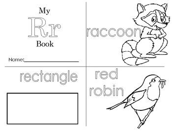 Minibook: The Letter Rr