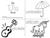 Minibook: The Letter Uu