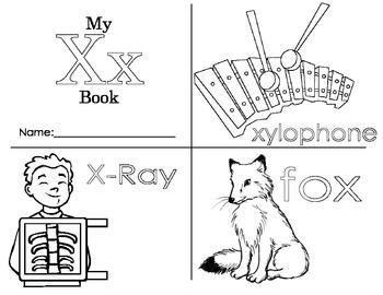 Minibook: The Letter Xx