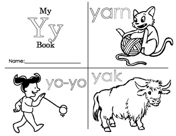 Minibook: The Letter Yy