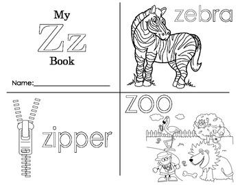 Minibook: The Letter Zz